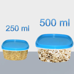 2196 Airtight Kitchen Storage Container for Multipurpose Use ( Set of 2) - DeoDap