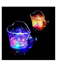 Load image into Gallery viewer, 0759 Heart Shape Activated Blinking Led Glass Cup