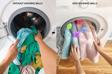 Load image into Gallery viewer, 0205 Laundry Washing Ball, Wash Without Detergent (4pcs)