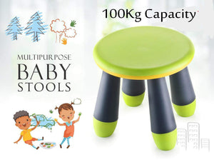 3027 Foldable Stool for Adults and Kids, Multi-Purpose  Pick N Move Portable Baby Stool (Multi Colour) - DeoDap