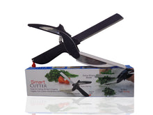 Load image into Gallery viewer, 0067 2 in 1 Kitchen Vegetable Smart Cutter and Chopper - DeoDap