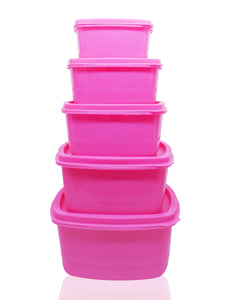 2070 Kitchen Food Storage Box Multi-Use Food Saver Containers- 5 pcs