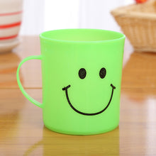 Load image into Gallery viewer, 0744 Unbreakable Plastic Coffee-Milk Fancy Smiley Mug
