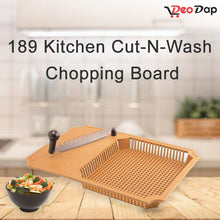 Load image into Gallery viewer, 0189 Kitchen Cut-N-Wash Chopping Board