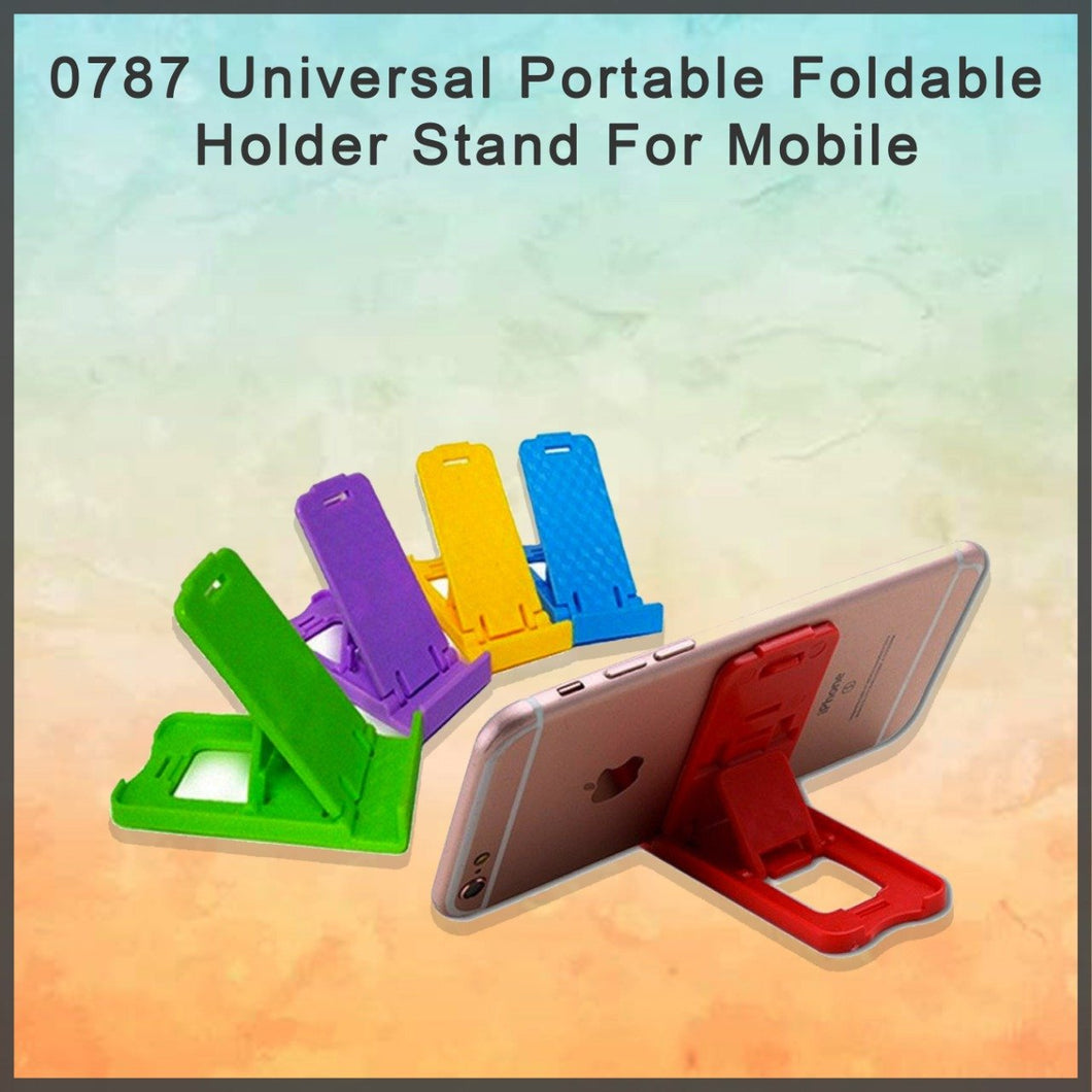 0787 Universal Portable Foldable Holder Stand For Mobile - DeoDap