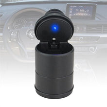 Load image into Gallery viewer, 0876 Portable LED Ashtray Cup Holder for Cars/Truck/Auto - DeoDap