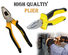 Load image into Gallery viewer, 0444 Heavy Duty Combination Plier Wire Cutters - DeoDap