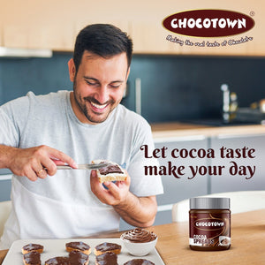 0055_Choco Nutri Chocolate Spreads - Premium Dark Chocolate Spread - 350 gm
