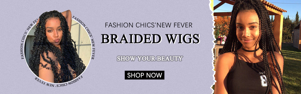 Fashion chics's new fever braided wigs