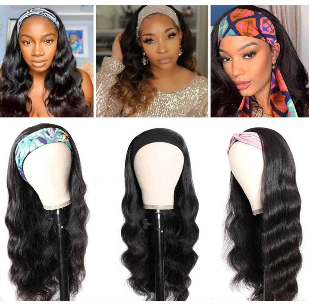 Body Wave Human Hair Wigs With HeadBang Customer & Product Show