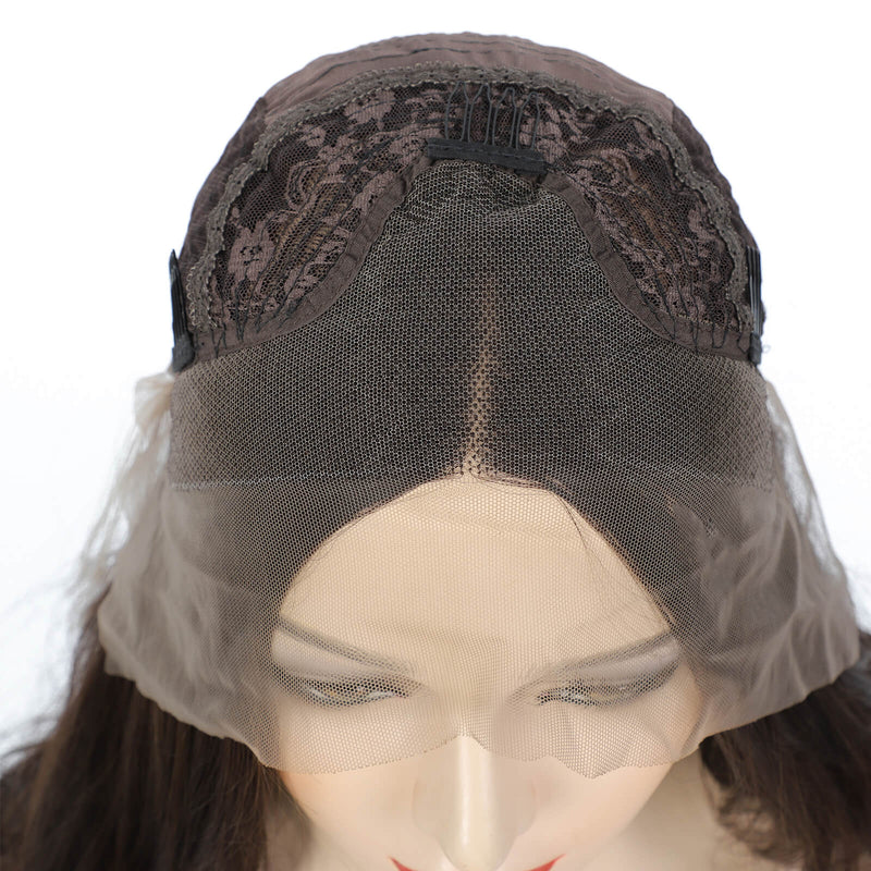 Body Wave Lace Front Wigs Piano Color Wigs Synthetic Hair Lace Front Show