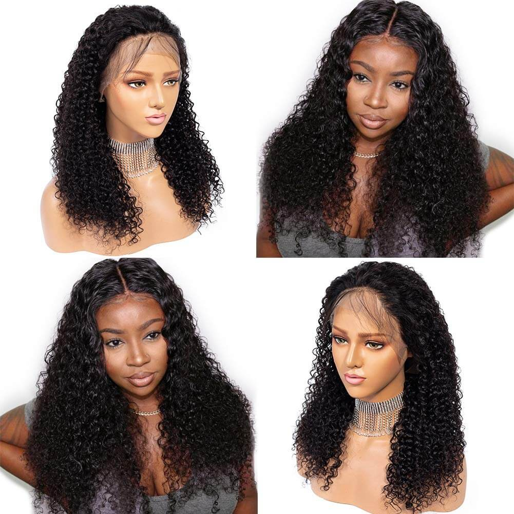 Culry Hair Lace Front Wigs Human Hair Product Show