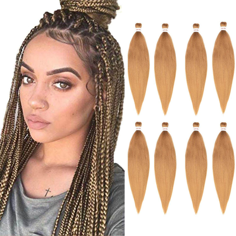 Easy Braids Synthetic Fibers Braiding Hair Blonde