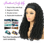 Nu Locs Headband Wigs for Black Women Black Color Braided Wigs Features