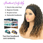Nu Locs Headband Wigs for Black Women Brown Color Braided Wigs Features