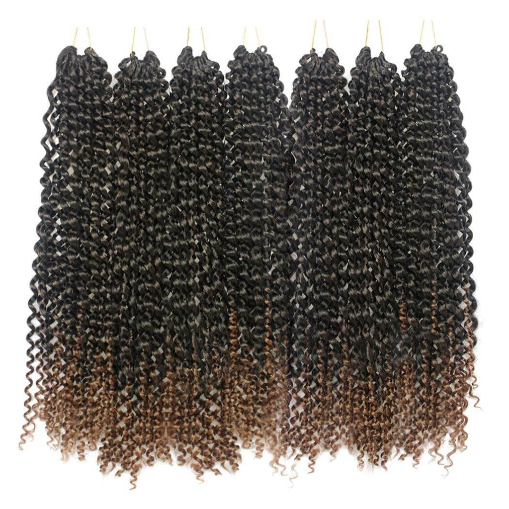 Passion Twist Crochet Braids 18 Inch Synthetic Heat Resistant Fiber T1B#30 Product Show