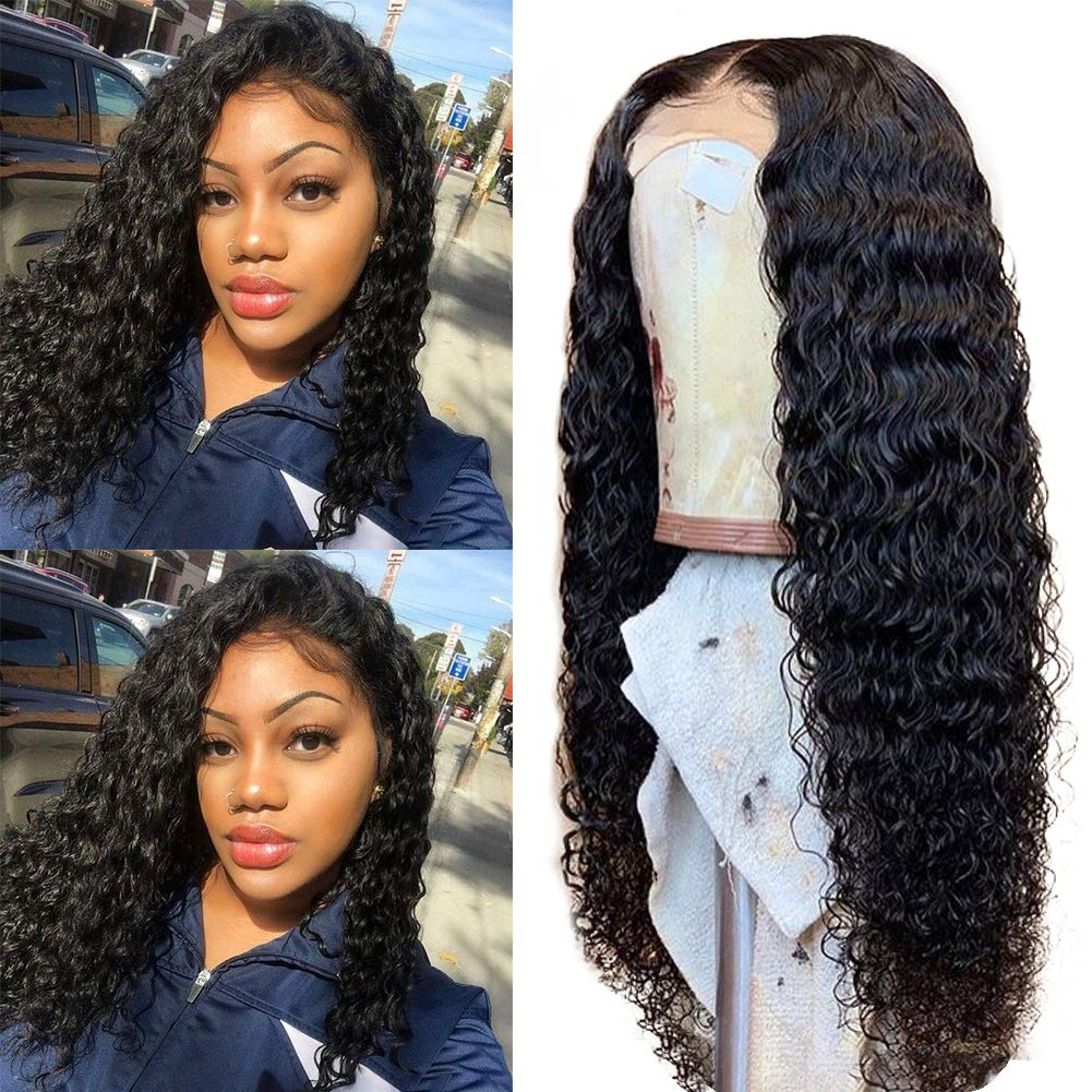 Rosebony Deep Wave lace Front Wig Human Hair Product Show