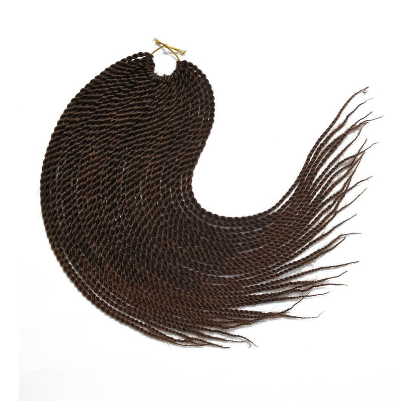 Senegalese Twist Crochet Braids Hair T1B30 Flat