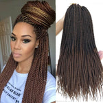 Senegalese Twist Crochet Braids Hair T1B30