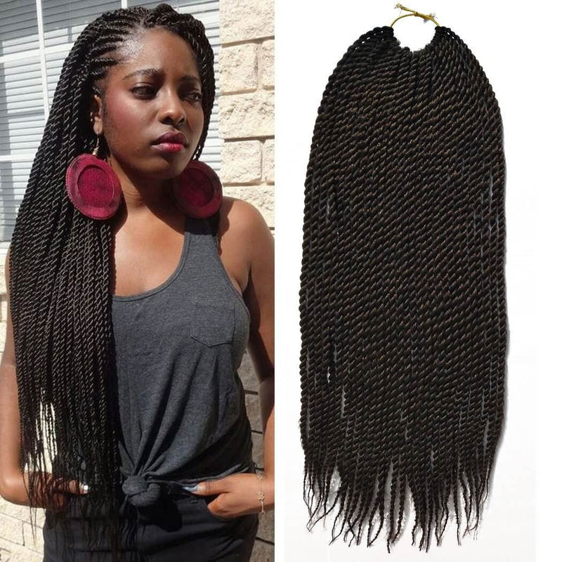 Senegalese Twist Crochet Braids Hair #4