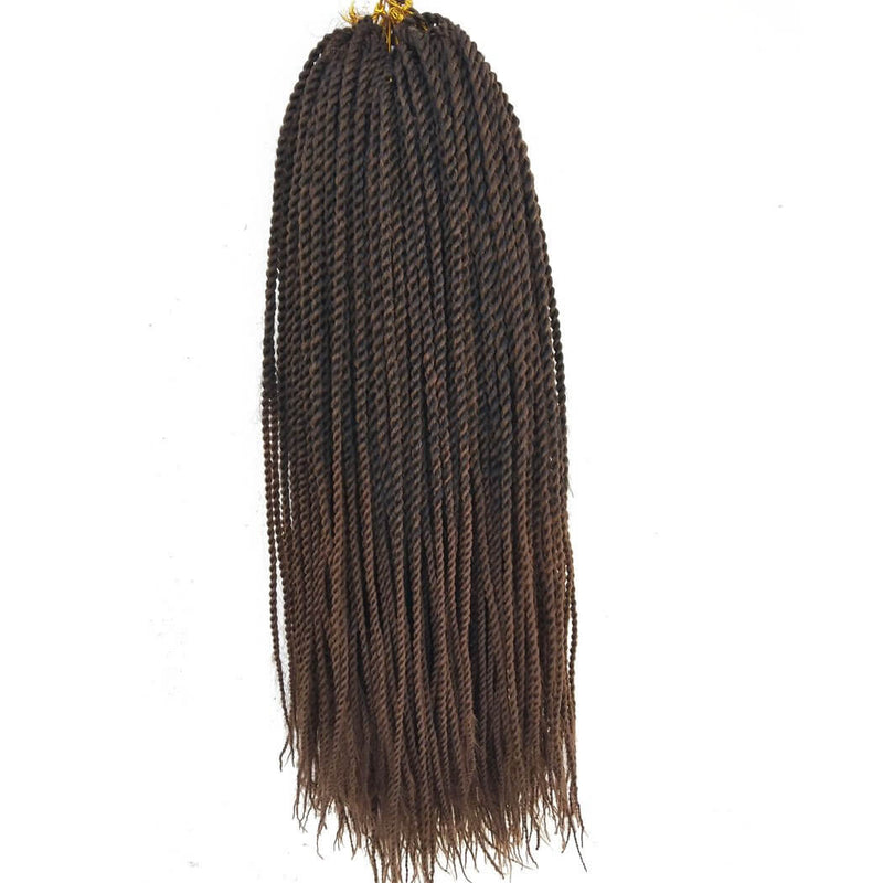 Senegalese Twist Crochet Braids Hair single T1B30