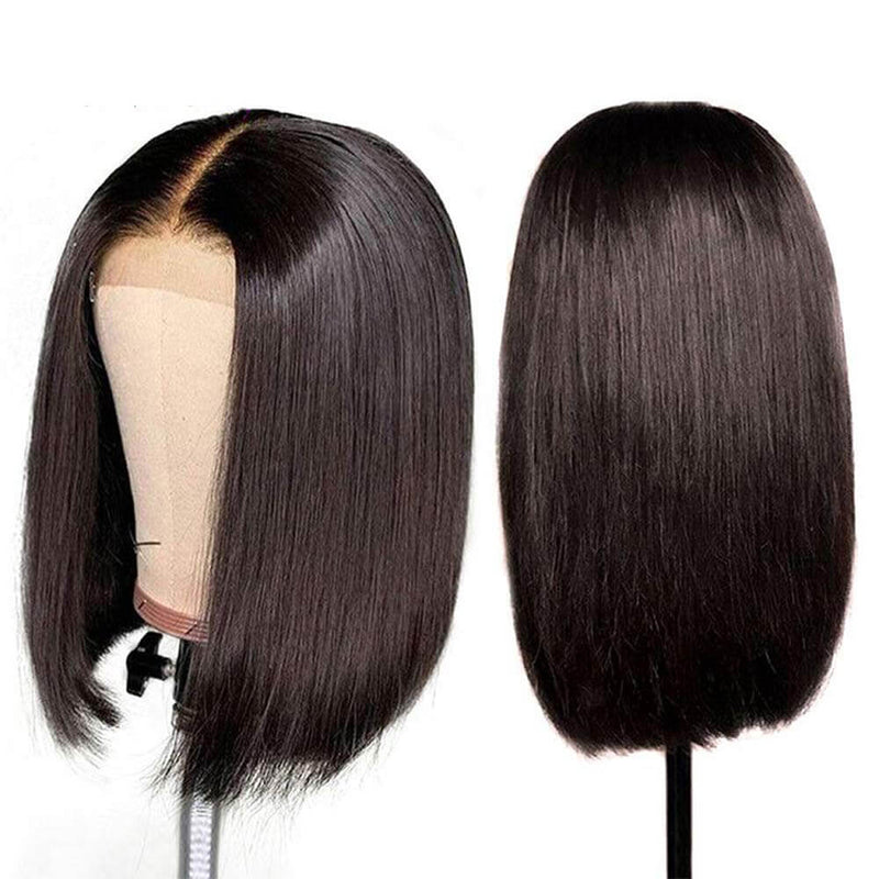Straight Bob Lace Front Wigs Human Hair Product Show