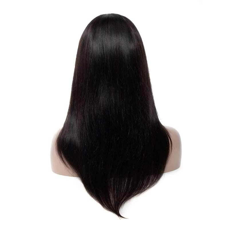Straight Hair 4x4 Lace Closure Wig Human Hair Wig For African American Women Product Show