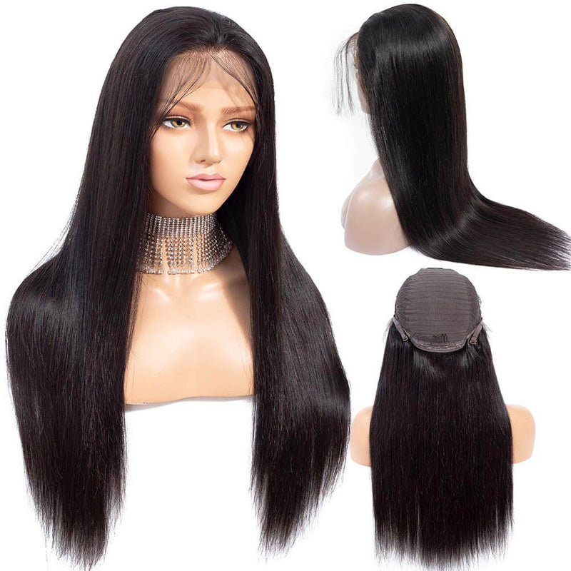 Straight Hair Lace Front Wigs Human Hair Product Show
