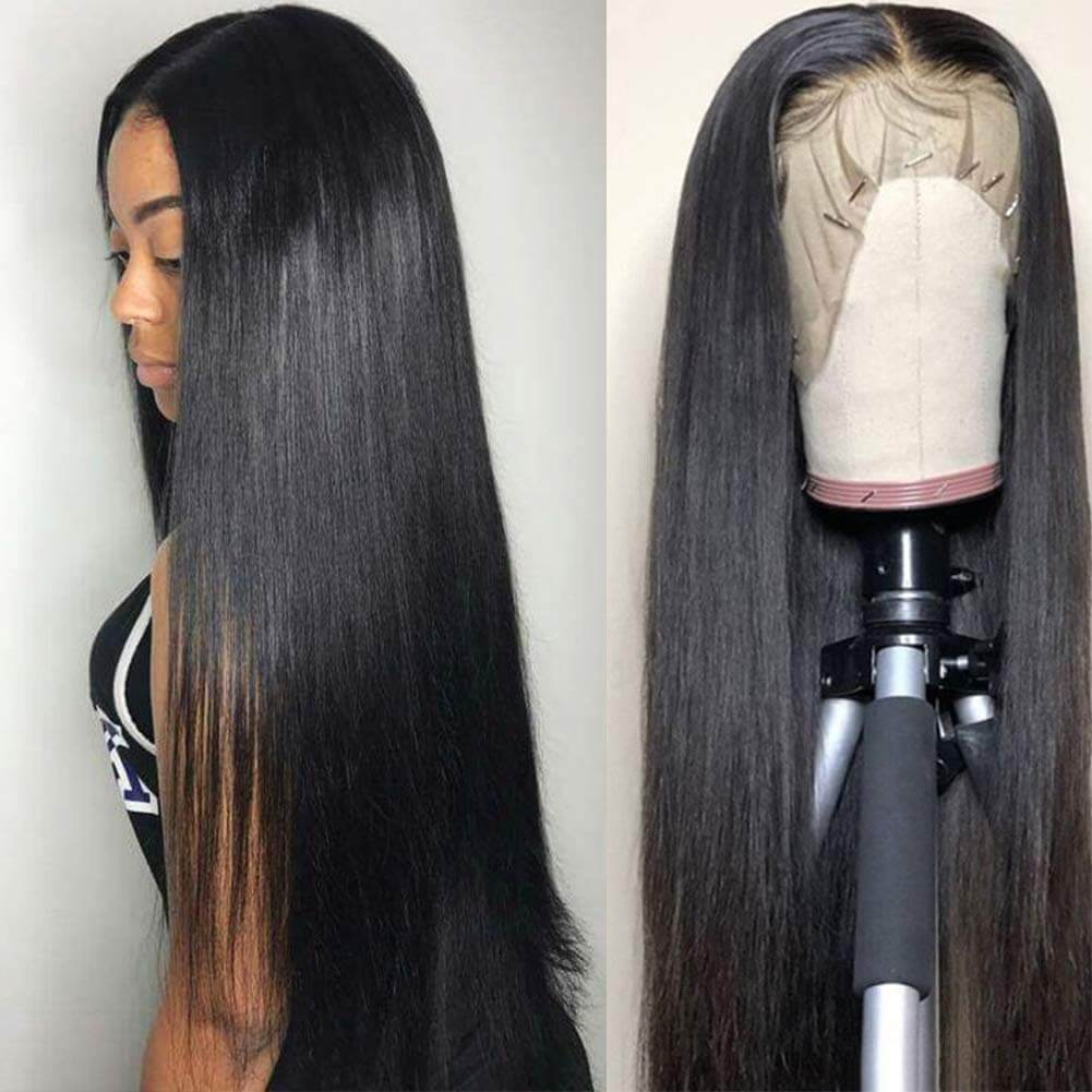 Straight Hair Lace Front Wigs Human Hair
