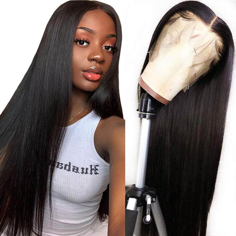 Synthetic Straight Lace Front Wigs