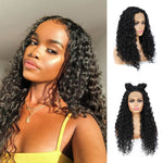 Synthetic Water Wave Lace Front Wigs