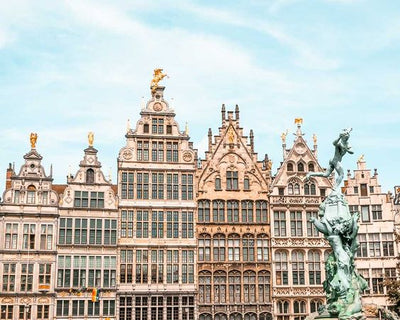 Why is Antwerp the diamond capital of the world?