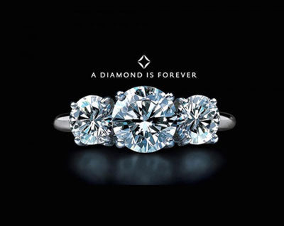 A diamond is forever De Beers