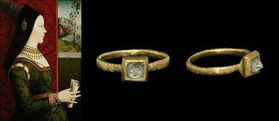 Mary Of Burgundy Engagement Ring