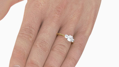 Meghan Markle Engagement Ring in 1 Carat