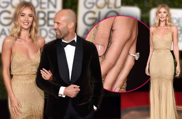 Rosie huntington engagement ring