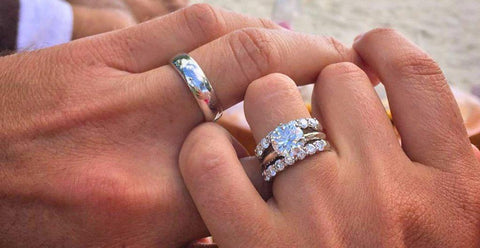 On What Hand Should You Wear an Engagement Ring and Wedding Ring on?
