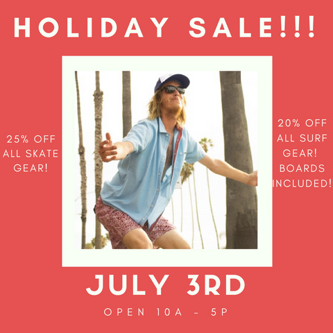 4th of July Sale Sante is Pumped!!!!