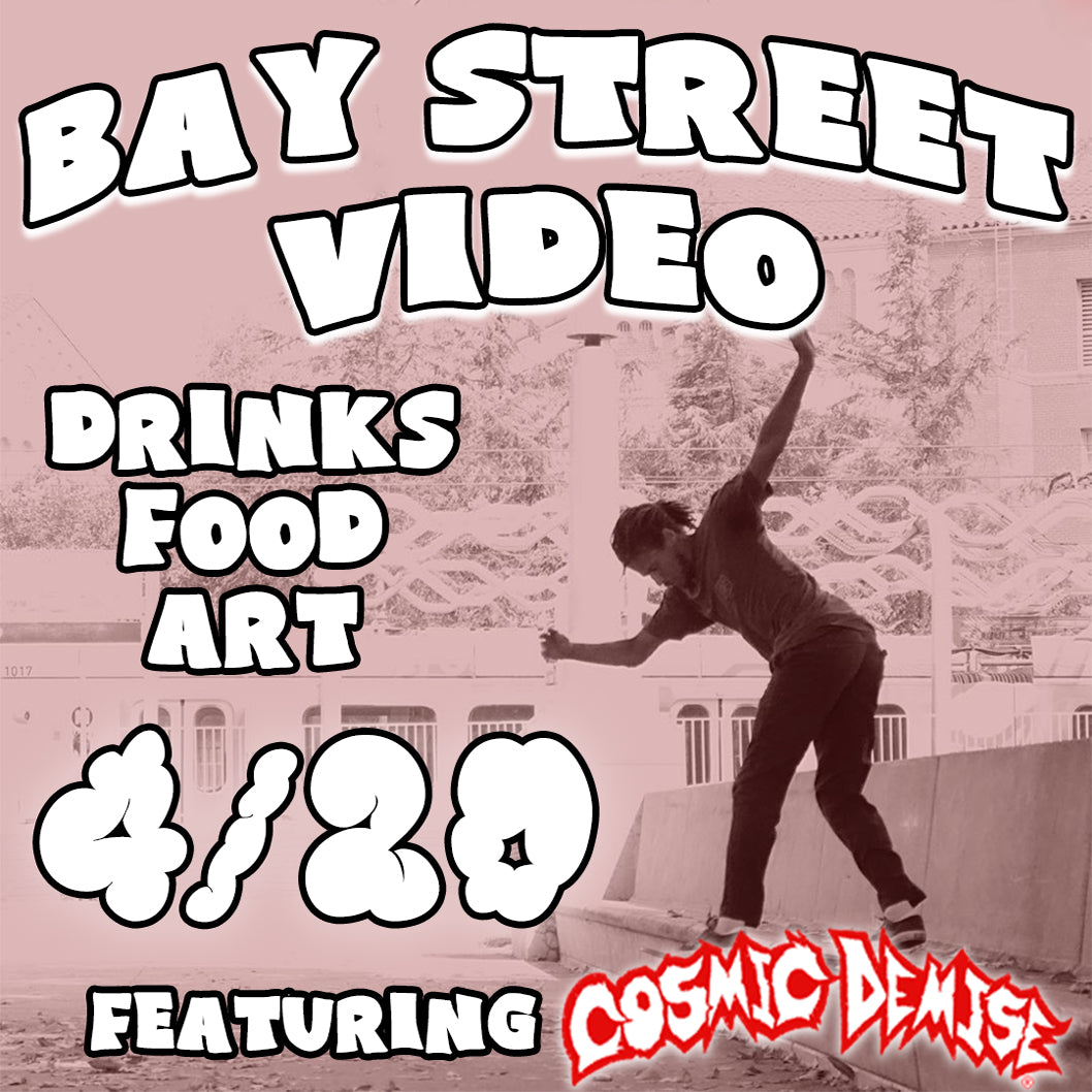 Bay Street Skate 2 Video FLyer