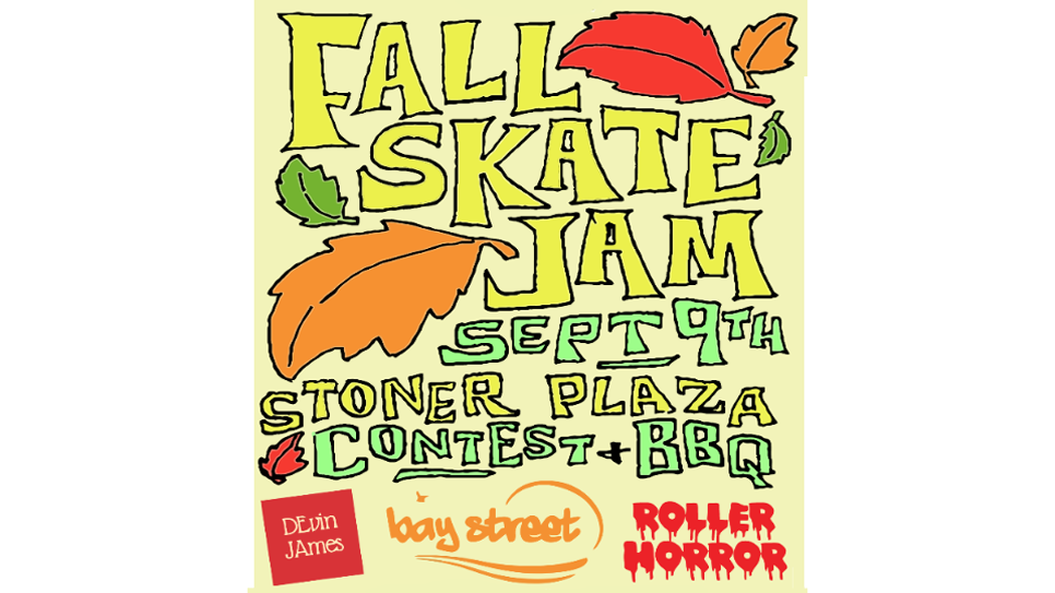 Fall Skate Jam with Bay Street Boards at Stoner Park