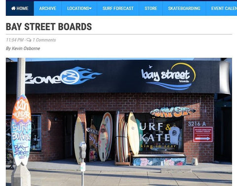 Bay Street Boards Shacked Mag Online Review by Kevin Osborne Ocean Park 26