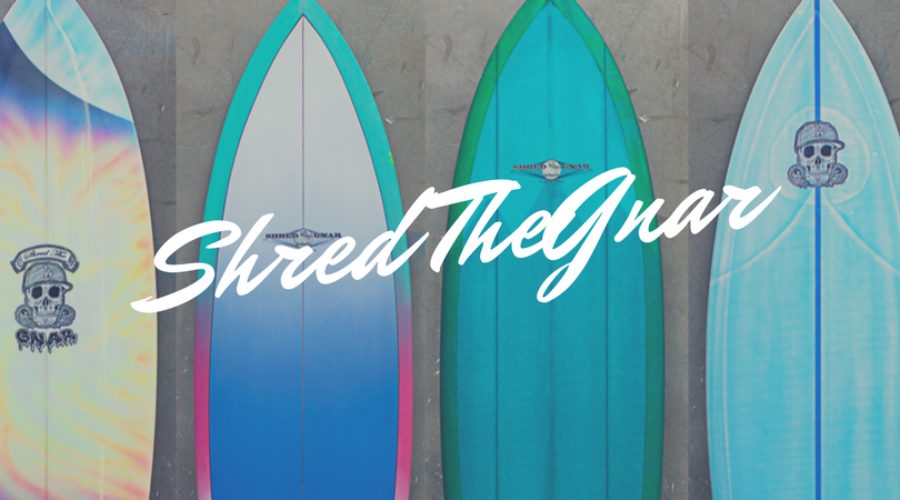 Shred The Gnar Surfboard Collection by Bay Street Boards featuring local shaper Sam Vinstein #STG #ShredTheGnar #eTech