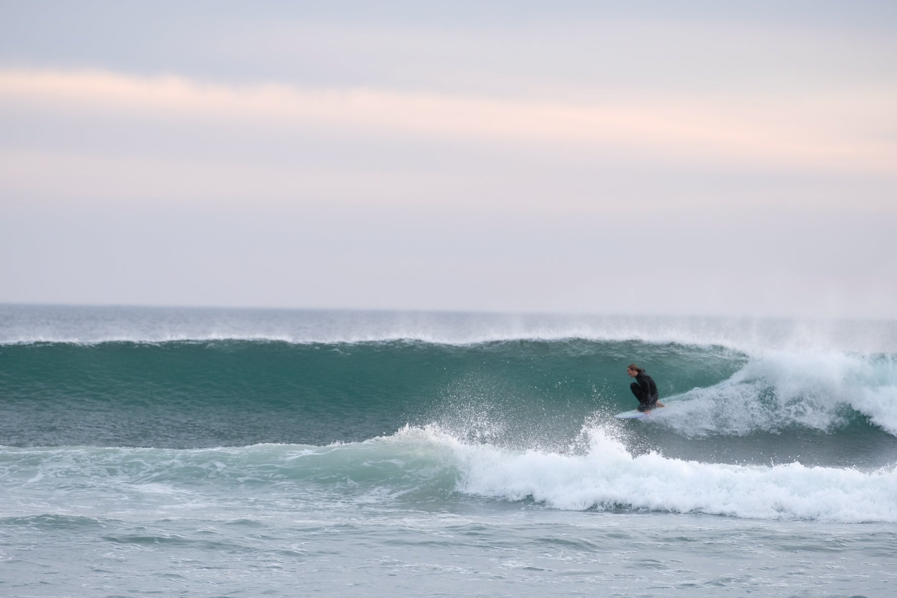 G during a better winter surf
