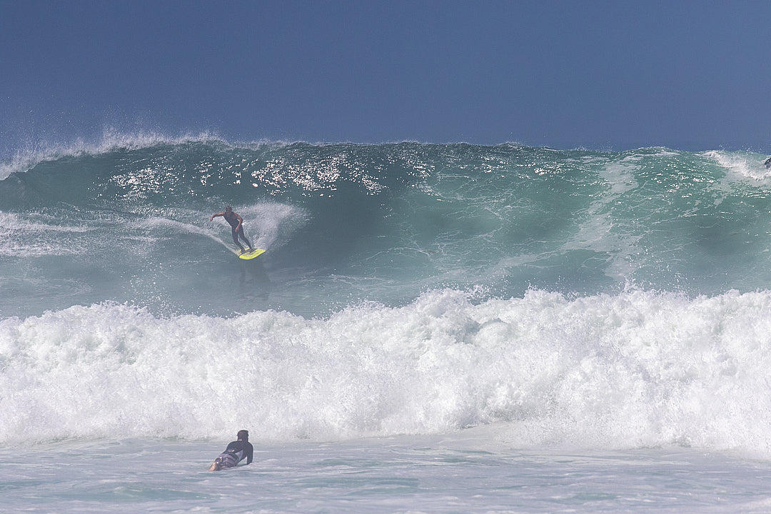 Big Swell Surfing