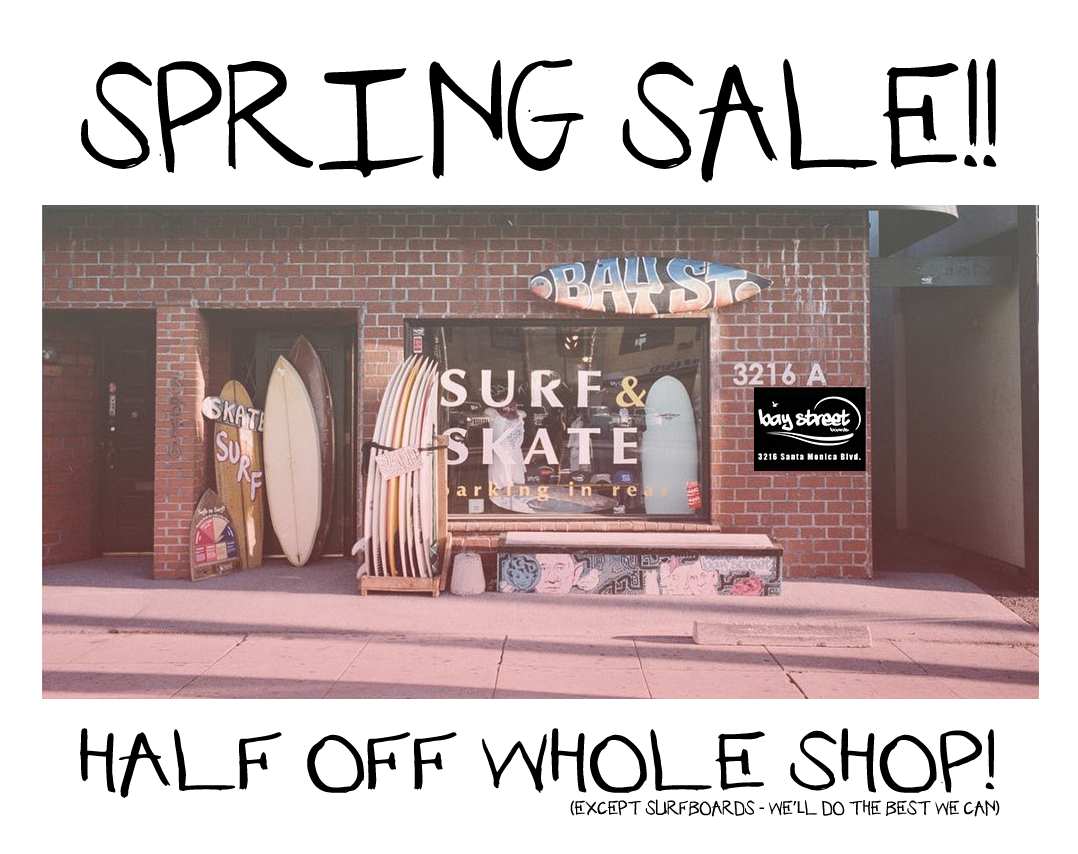 Spring Break Sale!