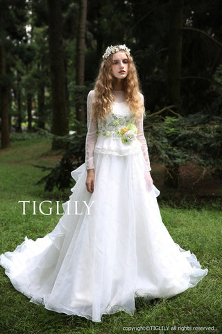 wedding dress (w301)