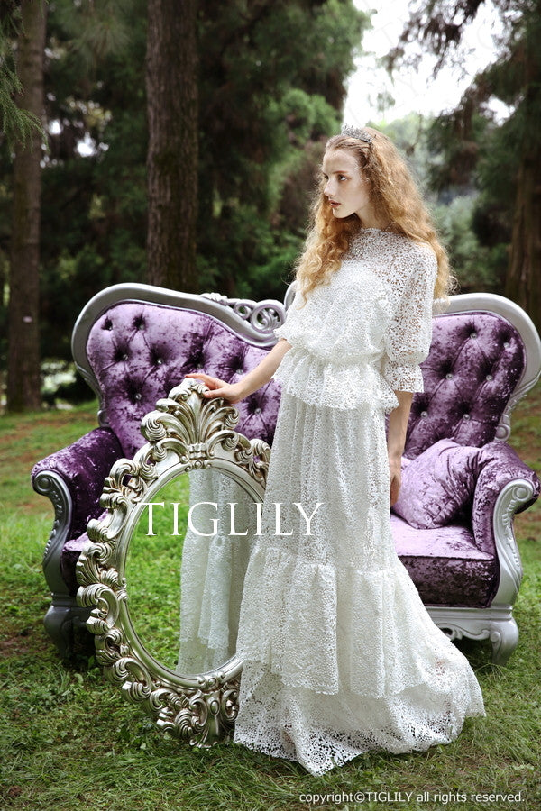 wedding dress (w309)