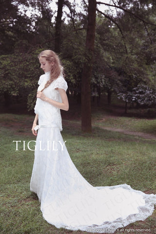 wedding dress (w311)