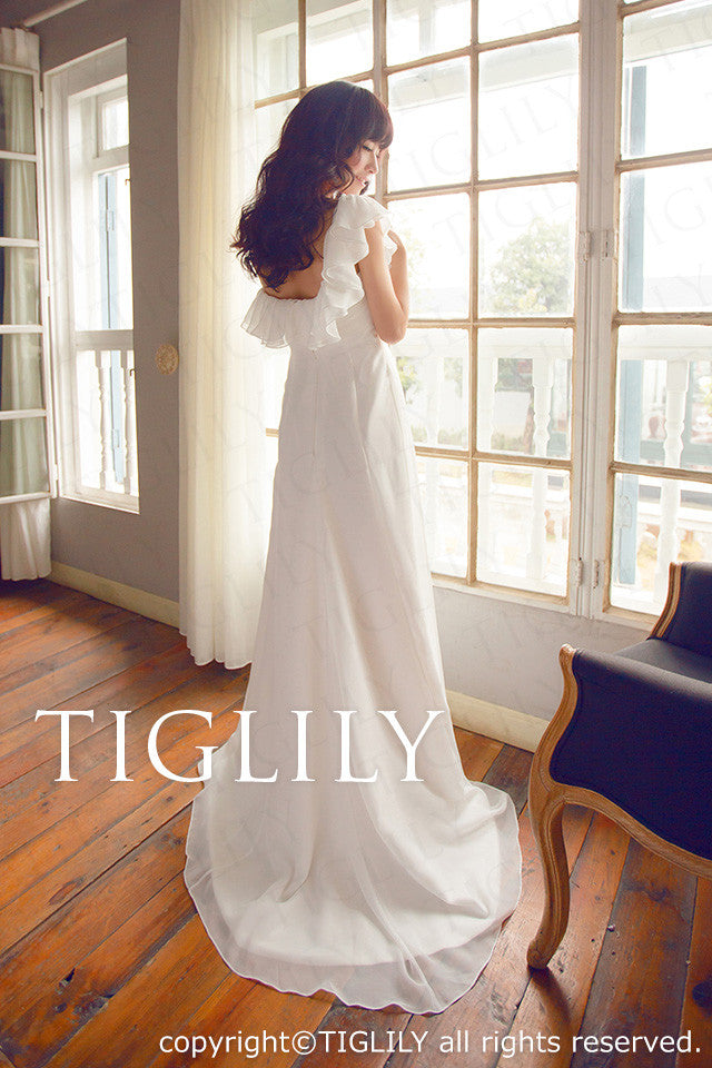 wedding dress (w411)