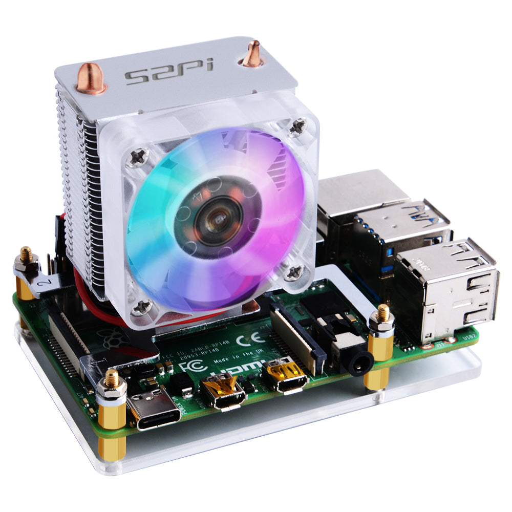 52PI ICE TOWER CPU Cooling Fan For Pi